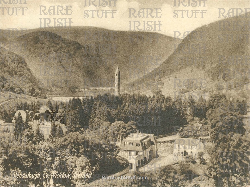 The  Valley   Glendalough   Co.  Wicklow 1905  Thumbnail0
