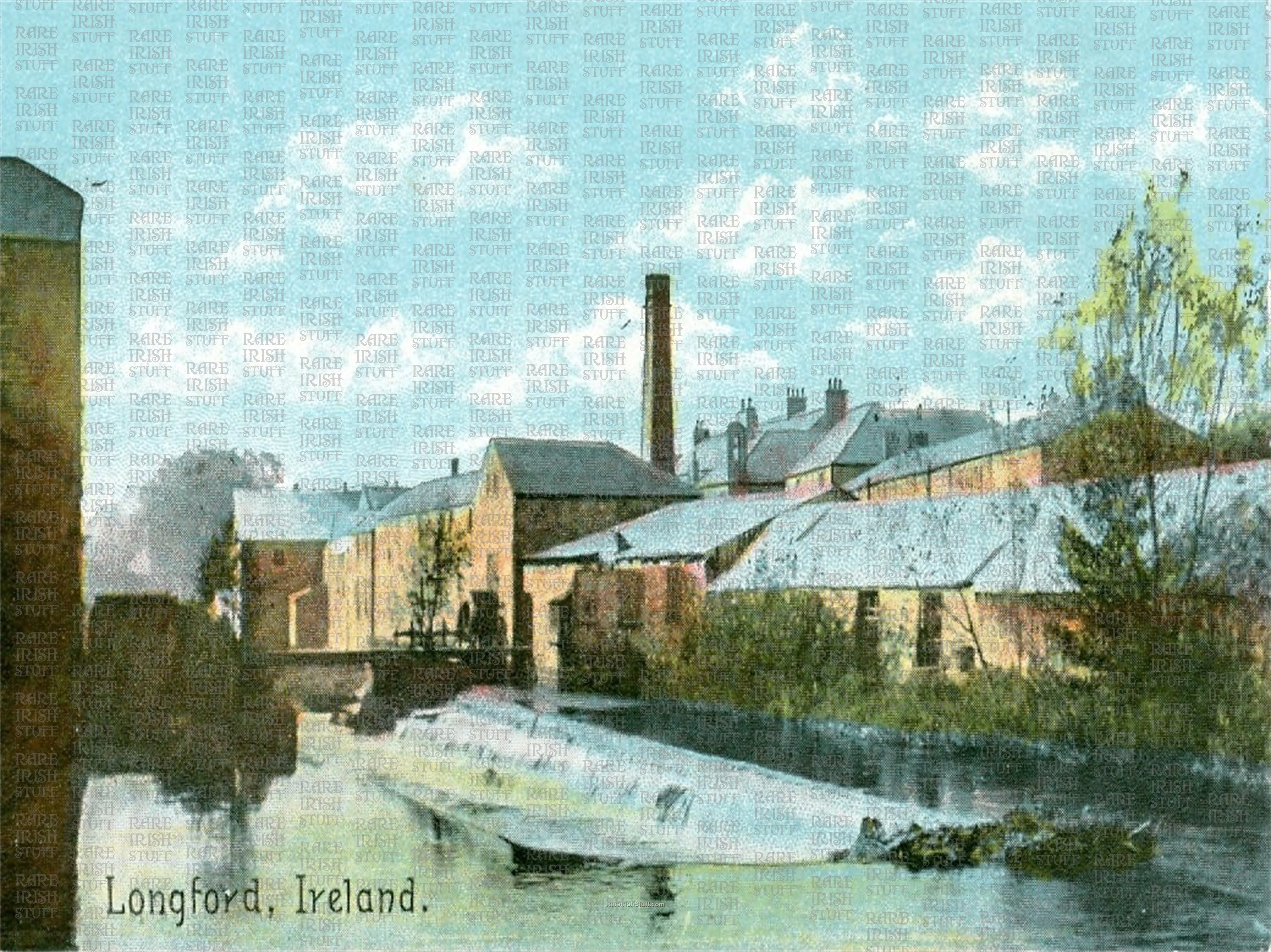 The  Weir   Longford  Town   Ireland 1895  Thumbnail0