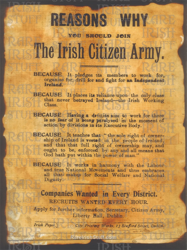 Untitled-1- Reason  Why  To  Join  Irish  Citizens  Army  Recruitment  Poster B5  Thumbnail0