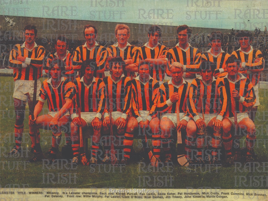 Untitled-231- Kilkenny   Ireland - 1970s  Hurling  Leinster  Title  Winners  G A A  Irish   Thumbnail0