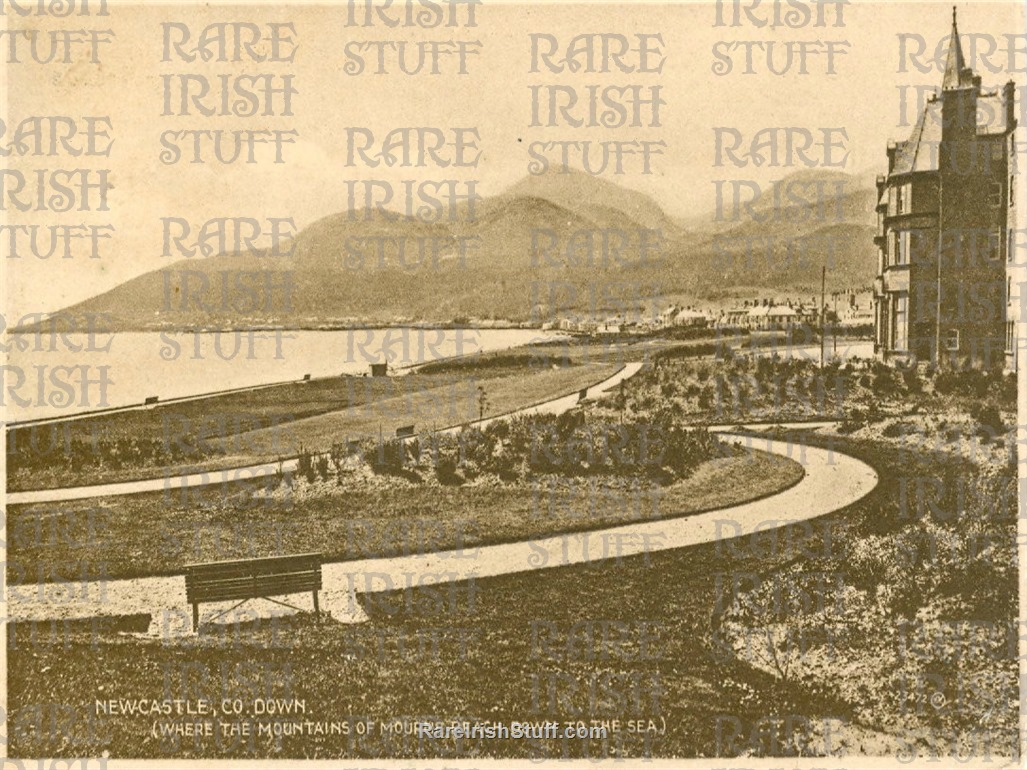 View from  Slieve  Donard  Hotel   Newcastle   Co  Down 1905  Thumbnail0