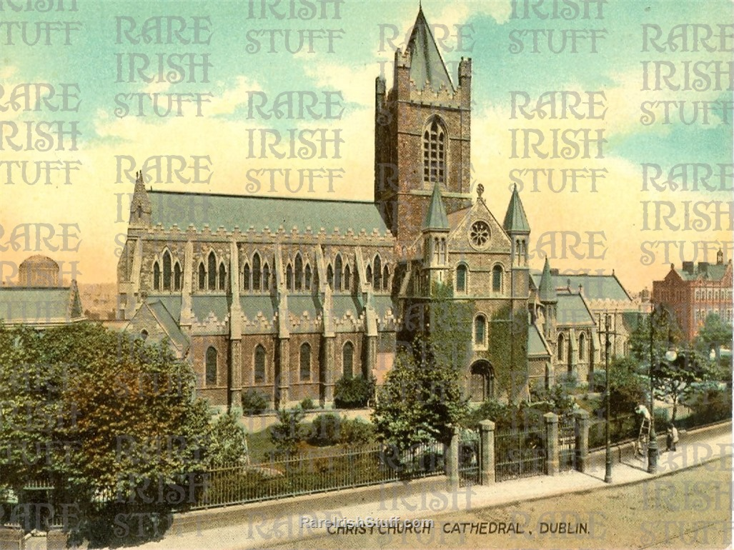 1905  Christchurch  Cathedral   Dublin   Ireland  Thumbnail0