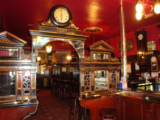 the authentic victorian pub the long hall. Black Bedroom Furniture Sets. Home Design Ideas